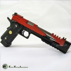 WE Red Dragon 7 Hi-Capa Type B Gas Airsoft Gun